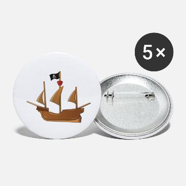 Pirate Ship pirate ship - Small Buttons
