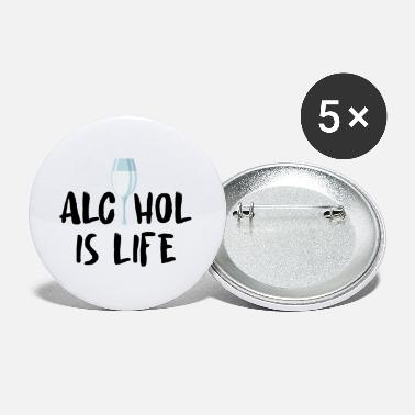 Alcohol Alcohol alcohol - Small Buttons
