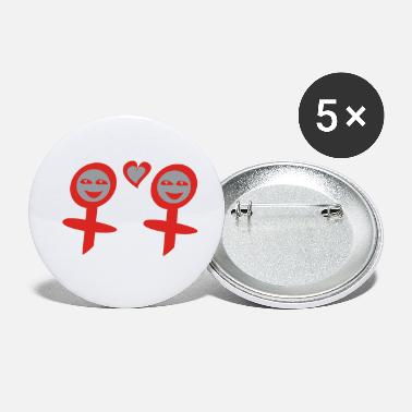 Girly girlies - Small Buttons
