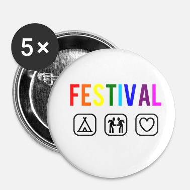 Festival festival - Badge petit 25 mm