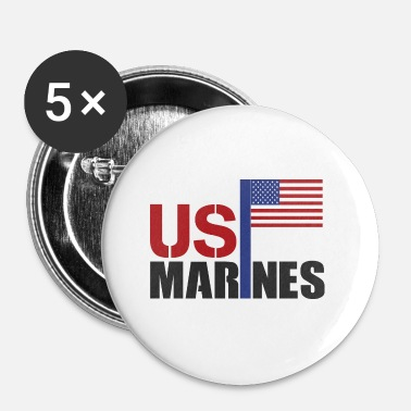 Marinen MARINES - Buttons/Badges lille, 25 mm