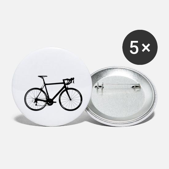 Sports Buttons & badges - racer - Små buttons hvid