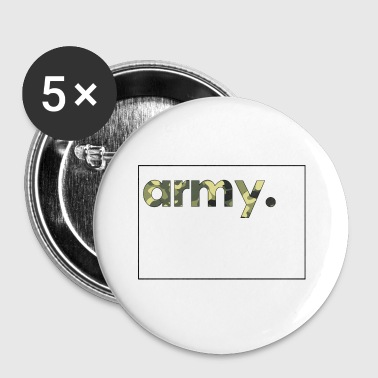 Army Camouflage - Buttons klein 25 mm