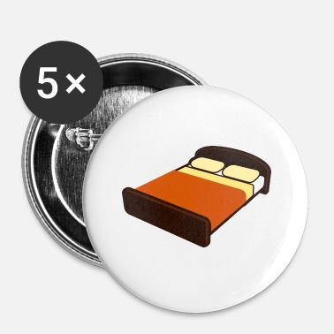 Bed bed - Buttons klein 25 mm (5-pack)