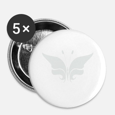 Hypnose illustration papillon papillon insecte animal - Badge petit 25 mm