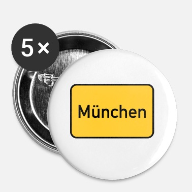 Munich Munich - Badge petit 25 mm