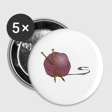 tricot - Badge petit 25 mm