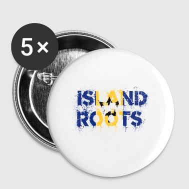 Barbados Barbados Roots - Buttons small 25 mm