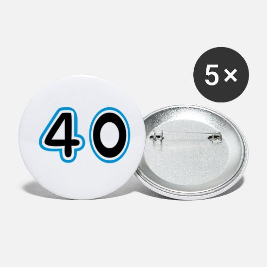 College Buttons & Anstecker - 40, Football jerseys, Soccer Time, motor race, - Buttons klein Weiß