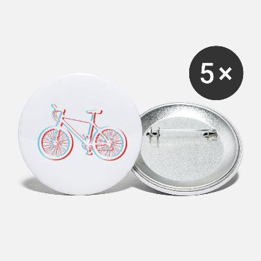 Freiheit Mountainbike 3D Look for dark Shirts - Buttons klein