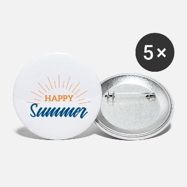 Summer Summer Happy Summer Festival Music Gift - Small Buttons