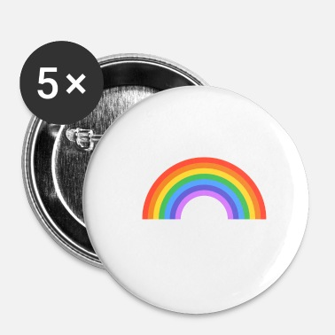 Christopher Street Day CSD 2018 White - Buttons klein 25 mm
