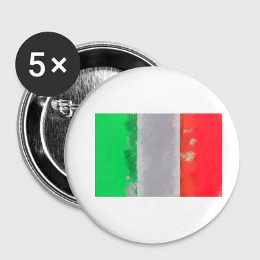 Italian Flag Italy flag Italian flag Itlaien - Buttons small 25 mm