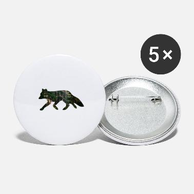 Fox forest - Small Buttons