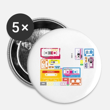Tape MIX TAPE - Badge petit 25 mm