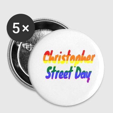 Christopher Street Day - Buttons klein 25 mm