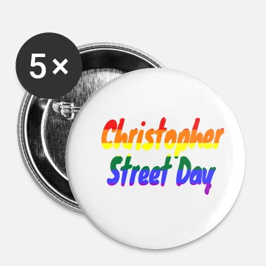 Christopher Street Day Christopher Street Day - Buttons klein 25 mm