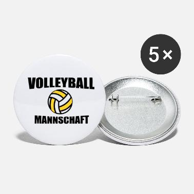 Team Volleyball team team - Small Buttons