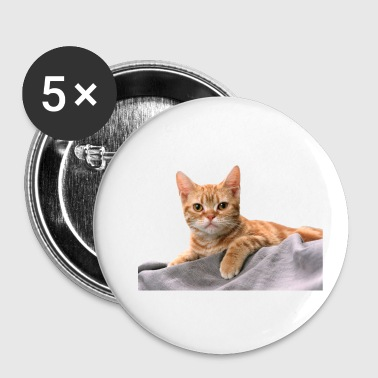 Snuggle Cuddly Cute Kitty Cat - Buttons small 25 mm
