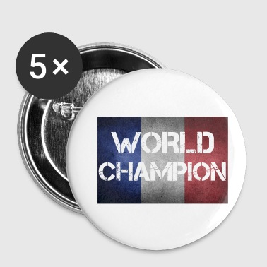Champion du monde de France - Badge petit 25 mm
