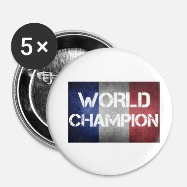 Champion Du Monde Champion du monde de France - Badge petit 25 mm
