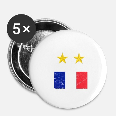 Champion Champion du monde de football France - Badge petit 25 mm