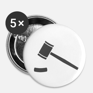 Marteau marteau - Badge petit 25 mm