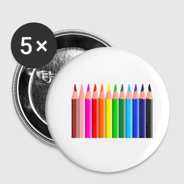 pencils - Buttons small 25 mm