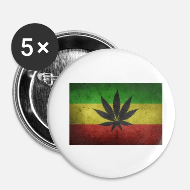 Rasta Rasta Ganya - Badge petit 25 mm