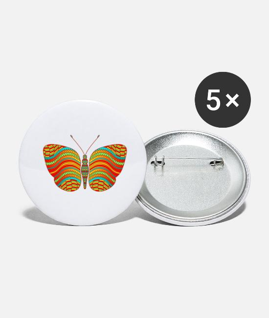Eco Buttons - Butterfly - Small Buttons white