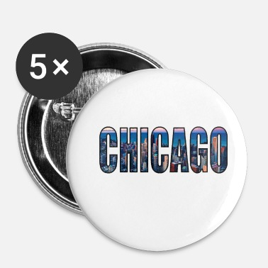 Chicago Chicago - Badge petit 25 mm