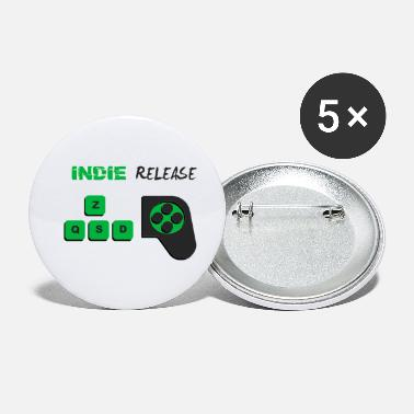 Indie Indie Release Logo - Small Buttons