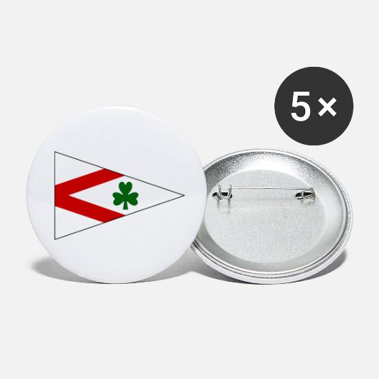 Northern Ireland Buttons - Sailing and Cruising Northern Ireland - Small Buttons white