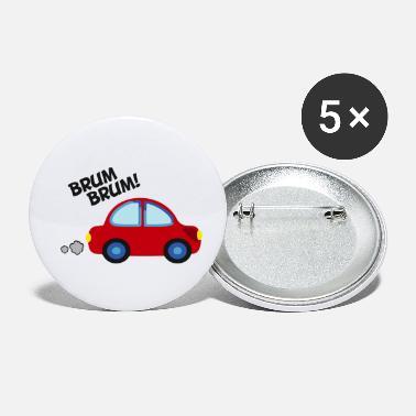 Fahrrad statt Auto Buttons klein | Spreadshirt