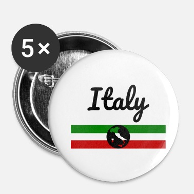 Italië Italië Italië Italië - Buttons klein 25 mm (5-pack)