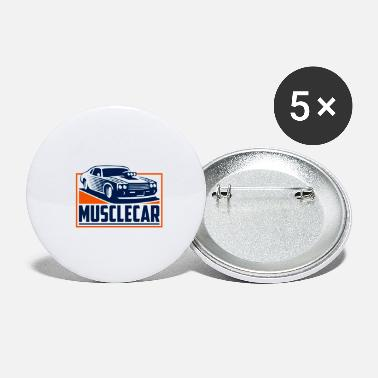 Muscle-car muscle car - Buttons klein
