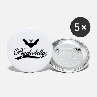Psychobilly psychobilly bat - Small Buttons
