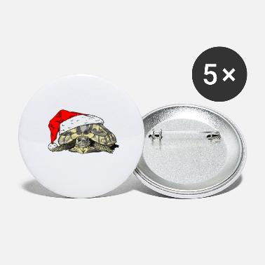 Christmas Tortoise - Small Buttons