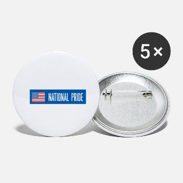 Nationale National Pride - Buttons klein
