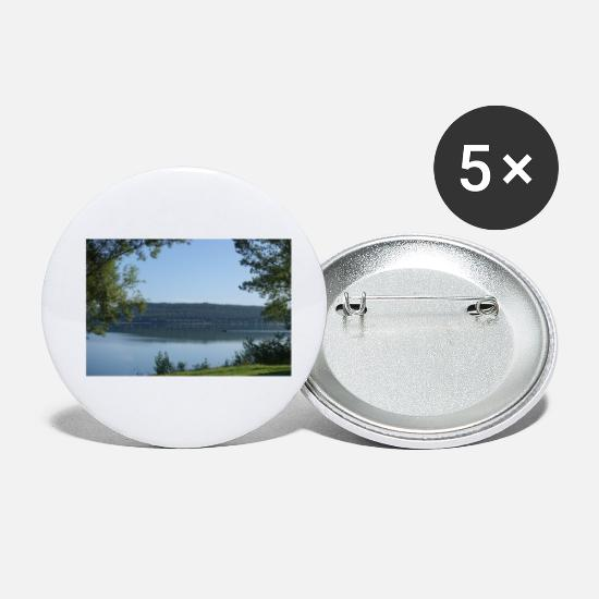 Pond Buttons - brombachsee - Small Buttons white