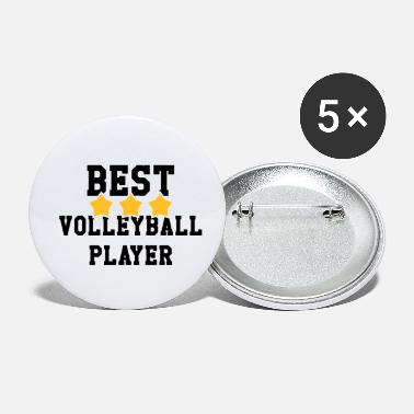 Volley Volleyball - Volley Ball - Sport - Sportsman - Buttons klein