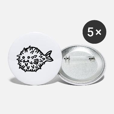 Sumu Lee puffer fish - Buttons klein