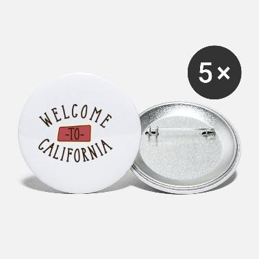 Californië Welkom in Californië - Buttons klein