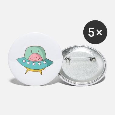 Saucer Flying saucer - Small Buttons