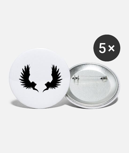 Garden Buttons - Back Wings - Small Buttons white