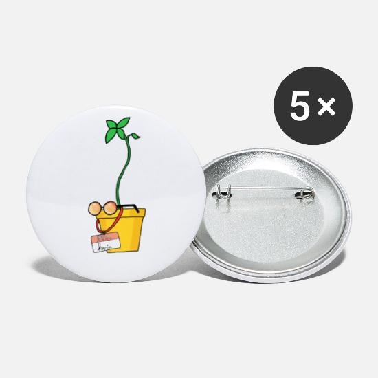 Kevin Buttons - Kevin the Advocado - Buttons klein wit