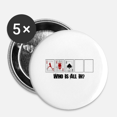 Texas poker - Badge petit 25 mm