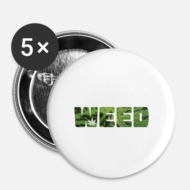 Cannabis Cadeau de cannabis cannabis cannabis - Badge petit 25 mm