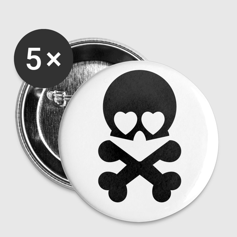 Love pirate - Buttons/Badges lille, 25 mm
