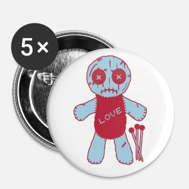 Voodoo Doll Voodoo Puppe, Voodoo Doll - Buttons small 25 mm